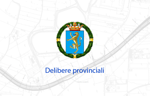 delibere provinciali