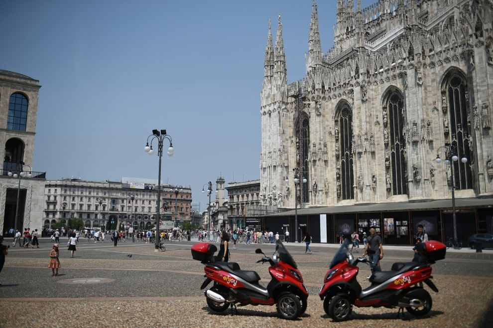 enjoy scooter sharing milano